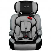 "XOMAX ""Auto Kindersitz / Sitzerh�hung (Hellgrau/Schwarz/Grau) f�r Kinder von 9 - 36 kg (Klasse I, II, III)"""