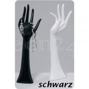 Boltze Schmuckhalter Hand 33cm zur Schmuck Aufbewahrung schwarz