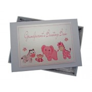 White Cotton Cards - Album portafoto Grandparents' Boasting Book, piccolo, colore: Rosa