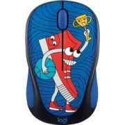 Mouse Wireless Logitech M238 Doodle Collection SNEAKER HEAD USB