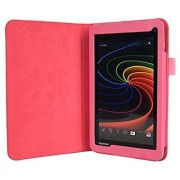 wisers Toshiba Excite 7c AT7-B8 Excite Go AT7-C8 AT7-B618 AT7-B619 7-Inch Tablet Case / Cover Pink
