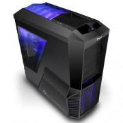 Caja Sobremesa Zalman Z11 Plus Gaming. ATX , USB 3.0, LED Azul, Sin Fuente