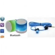 CLONEBEATZ Music Mini Bluetooth Speaker(S10 Speaker) And Adidas_Headset for ASUS ZENFONE ZOOM