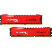 KINGSTON MEM DDR3 16GB (2x8) 1600MHz HyperX Savage HX316C9SRK2/16