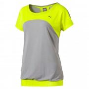 プーマ トランジション Tシャツ ウィメンズ Safety Yellow