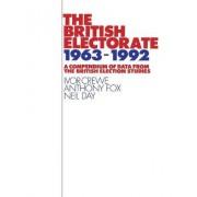The British Electorate, 1963-1992 by Ivor Crewe