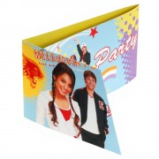Invitatii de petrecere High School Musical, Amscan 551388, Set 6 buc