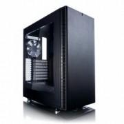 Fractal Design FD-CA-DEF-C-BK-W Define C Window Case per PC, Nero