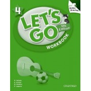Let's Go: 4: Workbook with Online Practice Pack