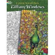 Color Your Own Tiffany Windows by Marty Noble