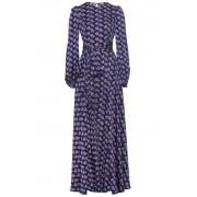 Olivegrey Платье в пол с длинным рукавом Olivegrey