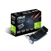 ASUS ASUS ASUS GT730-SL-2GD5-BRK - Scheda grafica - GF GT 730 - 2 GB GDDR5 - PCIe 2.0 basso profilo - DVI, D-Sub, HDMI - senza ventola 90YV06N2-M0NA00