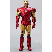 Marvel Iron Man 3 Action Figure Superhero Iron Man Tonny Mark 42 PVC Figure Toy 18 cm by Papatchaya