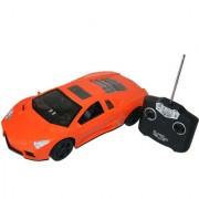 1:12 Scale Rc Lightening Speed Racing Car Orange