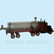 Kamion s lahví - dřevěný