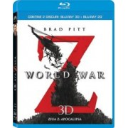 WORLD WAR Z BluRay COMBO 2D+3D 2012