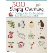 500 Simply Charming Designs for Embroidery by Ltd E & G Crafts Co.