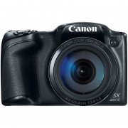 Canon Powershot SX400 IS 16.0 MP Digital Camera With 30x Optical Zoom And 720p HD Video (Black)