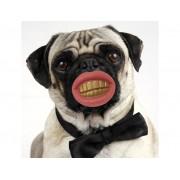 Pimp Dog Chew - pallina per cani a forma di denti con sorriso!