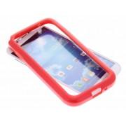 Rode bumper voor Samsung Galaxy S4