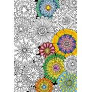 Puzzle de 300 Piezas Educa Puzzle Educa Grandes Flores Hermosas coloréame de 300 Piezas