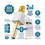 Microfon Karaoke Cu Difuzor Incorporat Roz