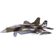 Baby Steps Die-Cast Metal Mission Fighter Mig-29 Plane (Green)