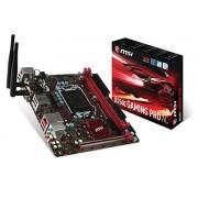 MSI B250I Gaming Pro Ac Scheda Madre, Formato Mini-ITX, Chipset Kabylake, Nero