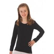 Trigema Mädchen Langarm Ski/Sport Shirt Größe: 140 Material: 100 % Polyester Bioactive Farbe: schwarz