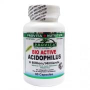 Acidofilus Bio-Activ cu Pectina, FOS si Inulin 60 capsule