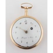Zlaté bicí kapesní hodinky Breguet á Paris