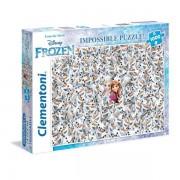 Clementoni Puzzle 1000 Pz. Impossible Frozen