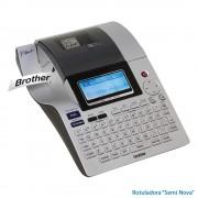 Rotulador eletrônico Brother PT-2700 3 linhas 16 carac. Impressora Para Etiquetas   SEMI NOVA