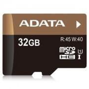 Card memorie microSDHC ADATA Premier Pro 32GB UHS-I U1 Class 10 + adaptor SD