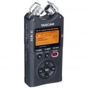Tascam DR-40 Gravador Digital de Áudio Voz 4-Faixas, Preto,+2Gb