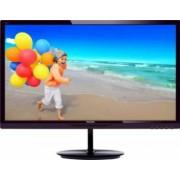 Monitor LED 28 Philips 284E5QHAD Full HD Black Chery