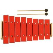 New Classic Giocattoli - 0200 - Percussioni - Metallophone - Red - 8 tonnellate