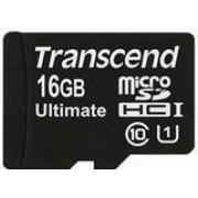 Card de memorie Transcend microSDHC, 16GB, UHS-I, 600x