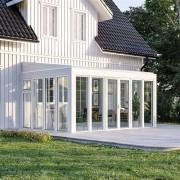 Drömma Energi Fasadmonterat med kanalplasttak 5288 x 4488 mm, 1 st