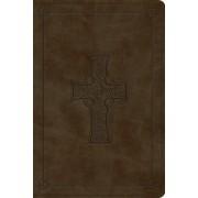 ESV Personal Reference Bible (Trutone, Olive, Celtic Cross Design)