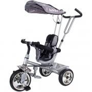 Tricicleta cu copertina Sun Baby Super Trike gri