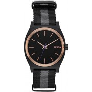 NIXON Time Teller Black / rose gold / charcoal Fall Winter 16-17 - One Size