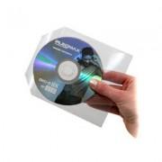 MediaRange Sobre Plastico CD/DVD con Solapa 50 pcs