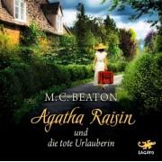 Agatha Raisin und die tote Urlauberin, 4 Audio-CDs