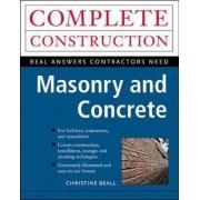 Masonry and Concrete by Christine Beall