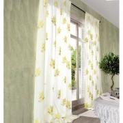 """Vorhang """"Gordes"""", 1 Vorhang, 132 x 280 cm - Creme/Olive"""