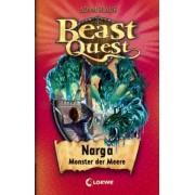 Beast Quest 15. Narga, Monster der Meere by Adam Blade