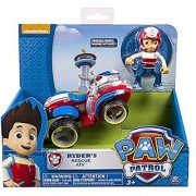 Nickelodeon Paw Patrol - Ryder's Rescue ATV Vehicle and Figure (works with Paw Patroller)