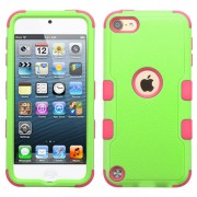 Funda Protector Triple Layer Apple Ipod Touch 5G / 6G Verde / Rosa