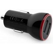 Incarcator Auto Anker A2308011, 5V / 2.4A, 2 USB, Universal (Negru)